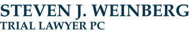 Steven J. Weinberg, Trial Lawyer Header Logo